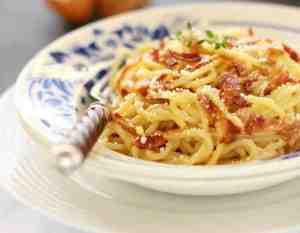 Bacon Carbonara Pasta Recipe