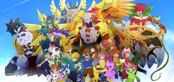 A Fanart of Digimon Adventures Mega Evolutions