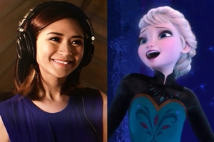 Sarah Geronimo and Elsa