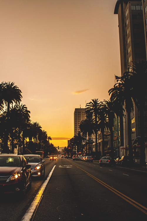 Los Angeles Sunset by  Areg Manvelyan
