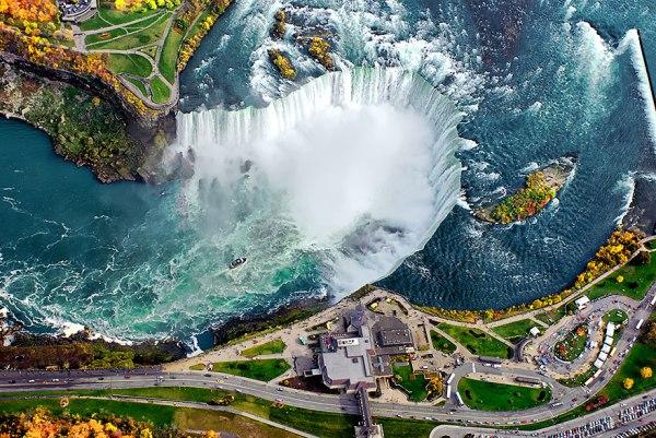 Niagra Falls, USA-Canadian border