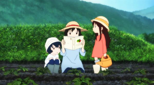 Mamoru Hosoda's Wolf Children