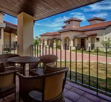 Terrace of View of Espacio Verde's Garden View Suite