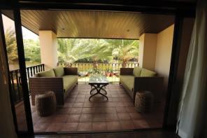 Terrace view of Espacio Verde's Executive Suite