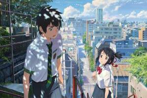 "Your Name. ""Taki and Mitsuha"""