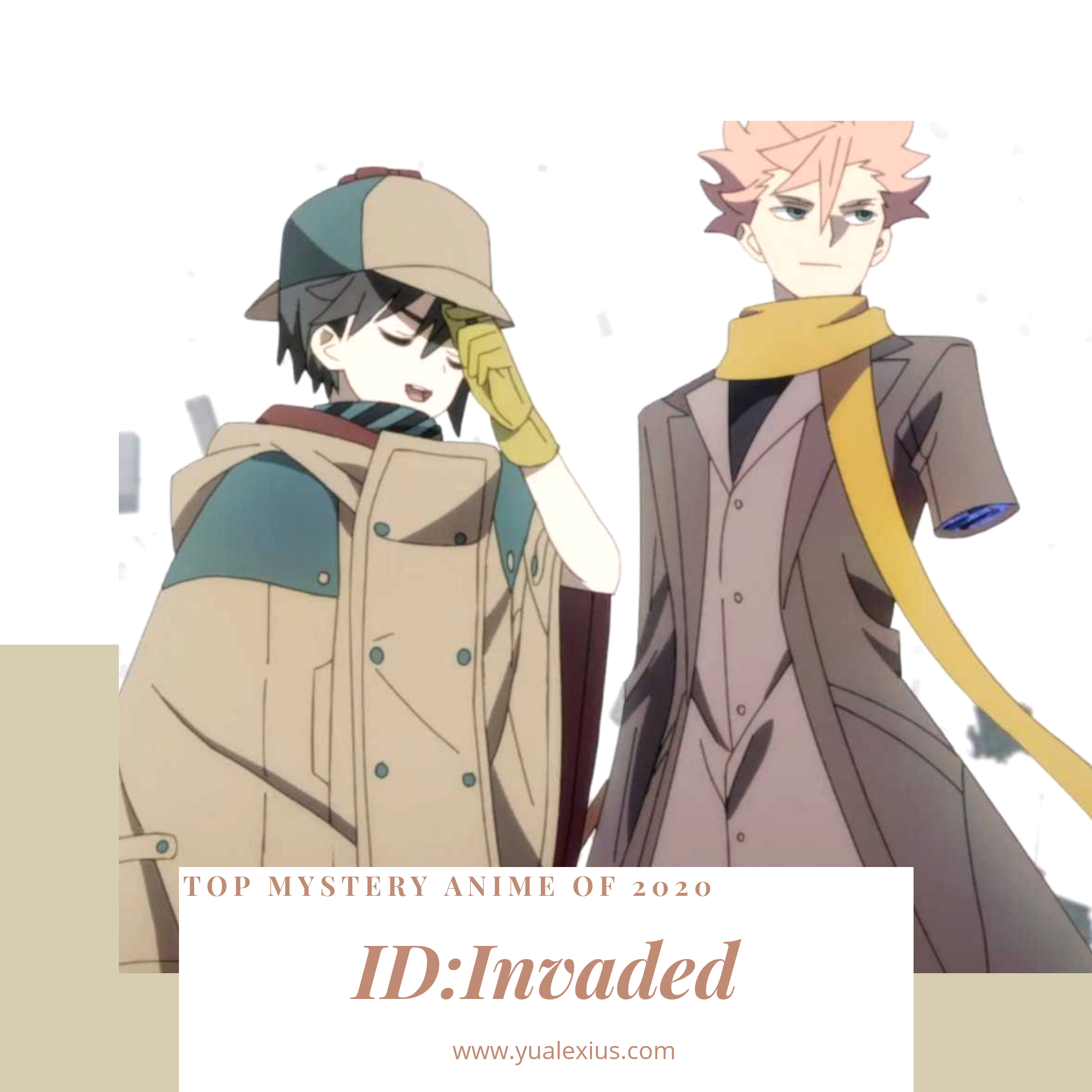 ID:Invaded anime