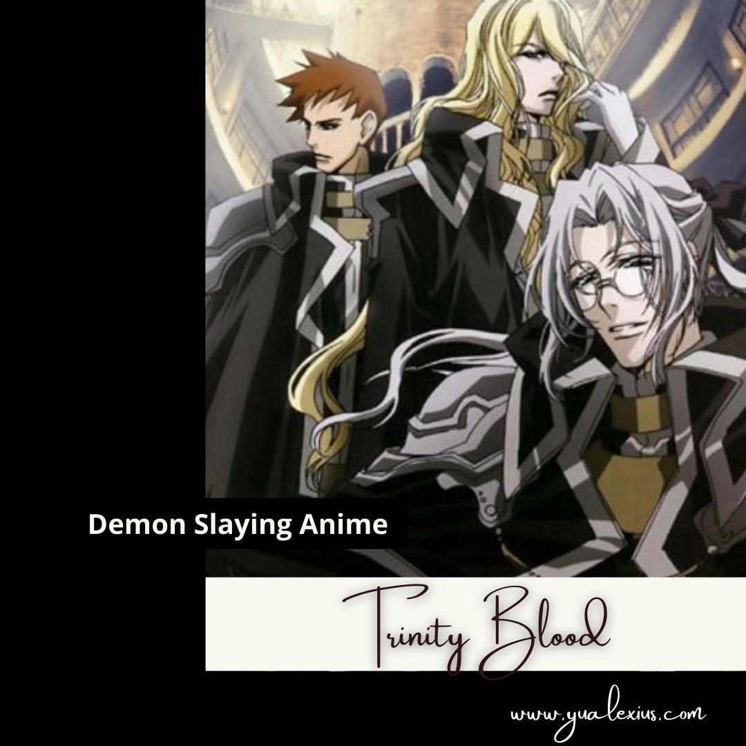 Demon Slaying Anime Trinity Blood