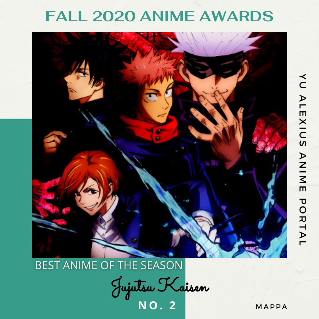 'FALL 2020 ANIME AWARDS Jujutsu Kaisen