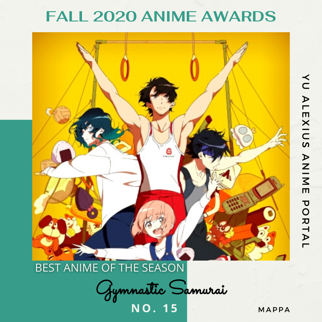 'FALL 2020 ANIME AWARDS Gymnastic Samurai