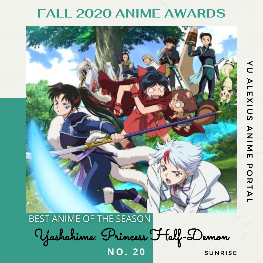 'FALL 2020 ANIME AWARDS Yashahime: Princess Half-Demon