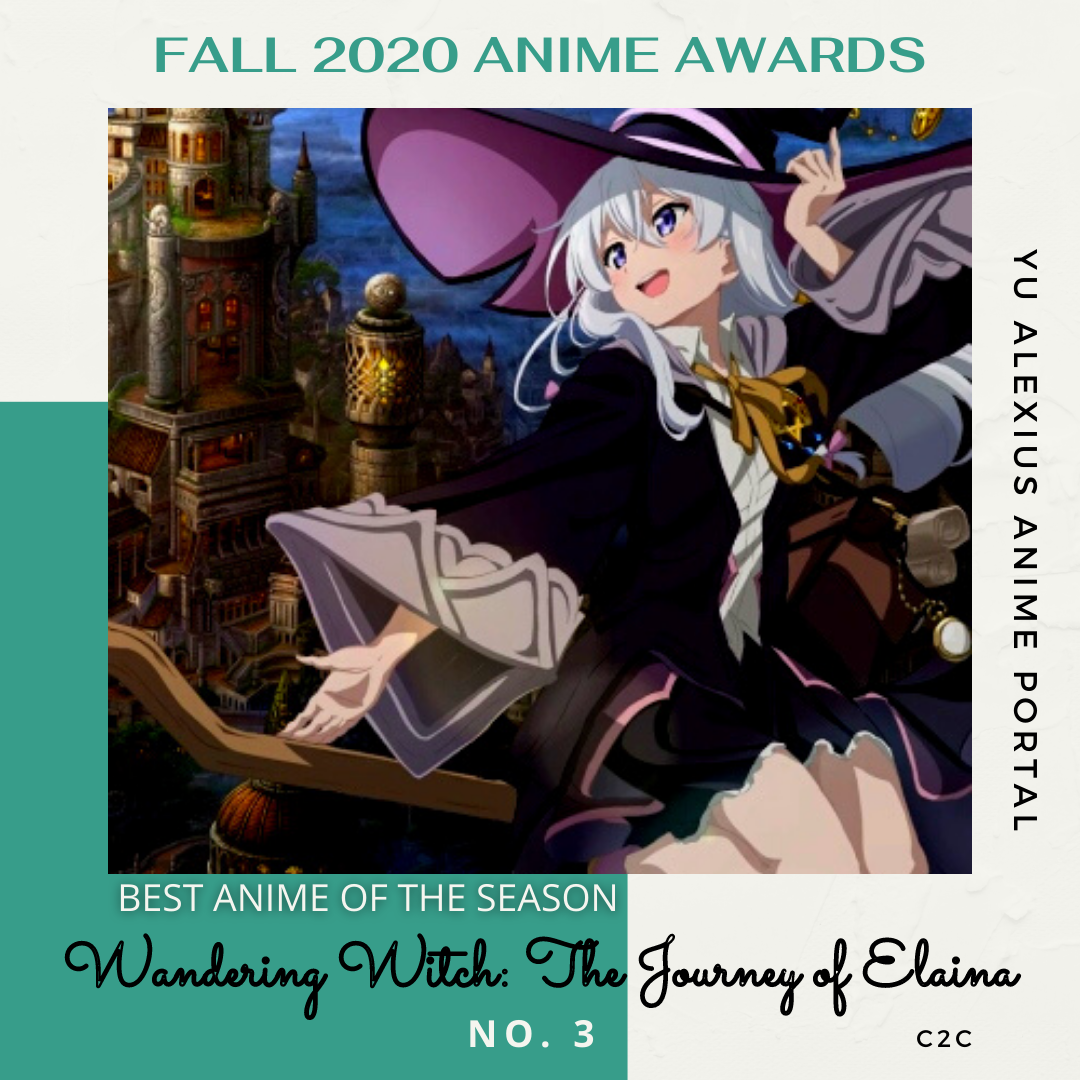 'FALL 2020 ANIME AWARDS Wandering Witch: The Journey of Elaina