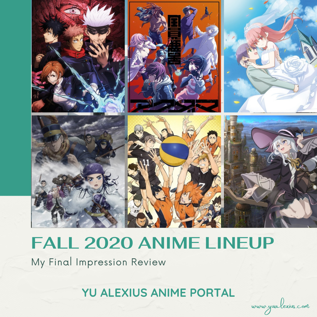 fall 2020 anime lineup final impression review