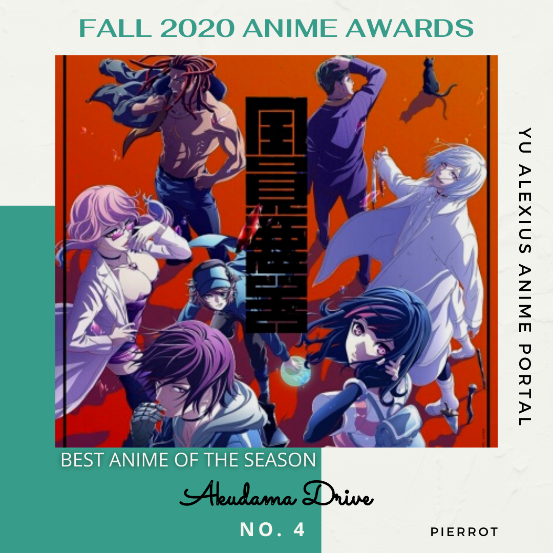 'FALL 2020 ANIME AWARDS Akudama Drive