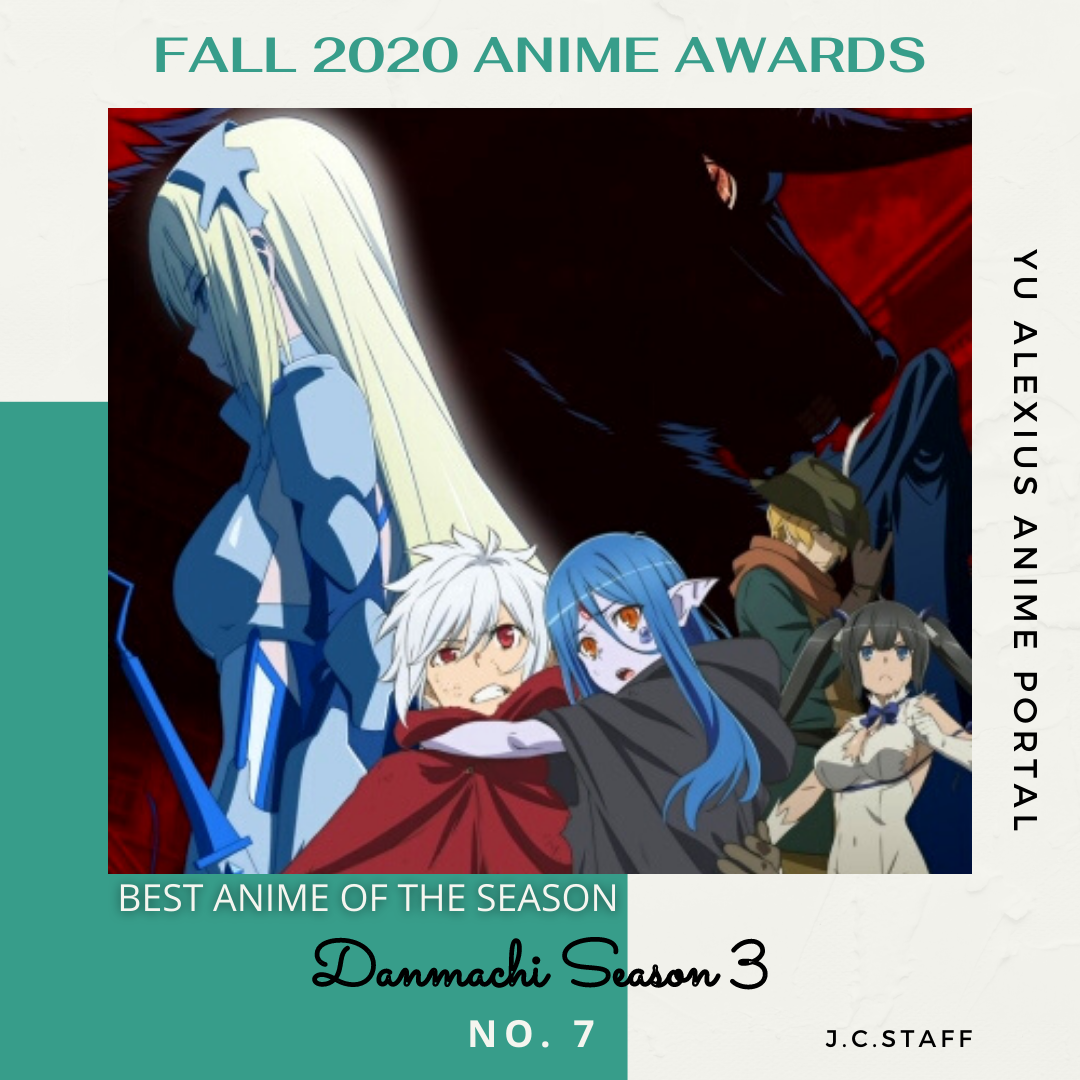'FALL 2020 ANIME AWARDS Danmachi Season 3