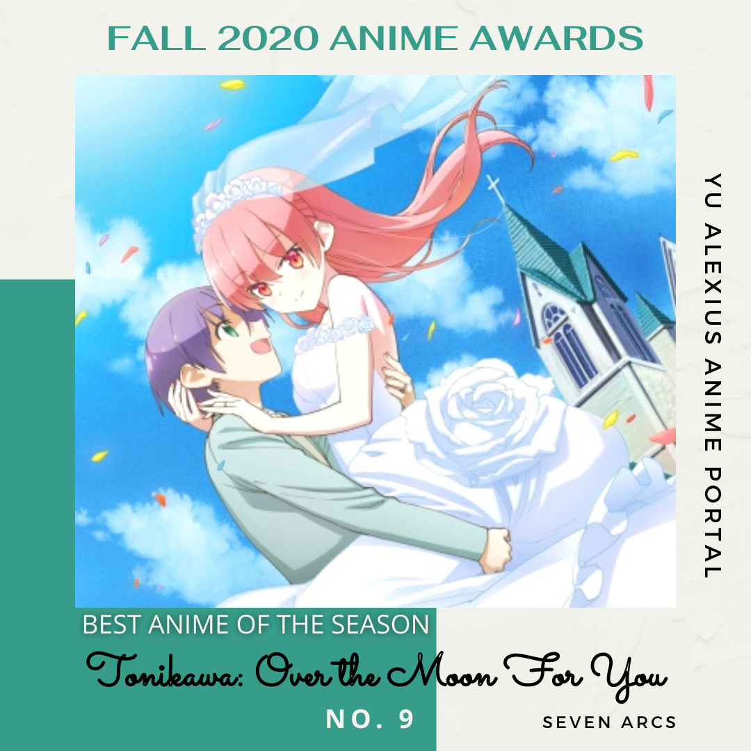 'FALL 2020 ANIME AWARDS TONIKAWA: Over the Moon For You