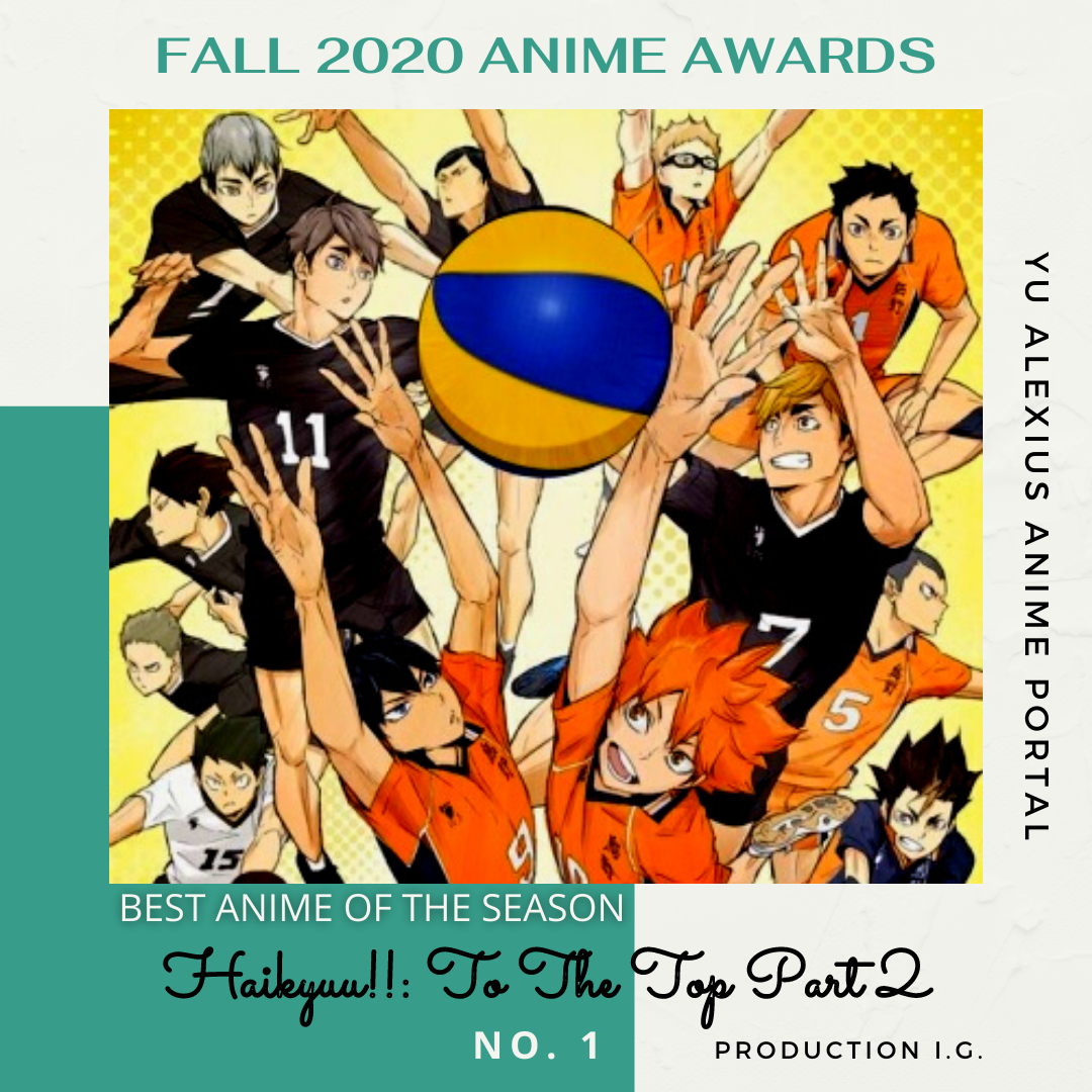 'FALL 2020 ANIME AWARDS Haikyuu!! To The Top Part 2