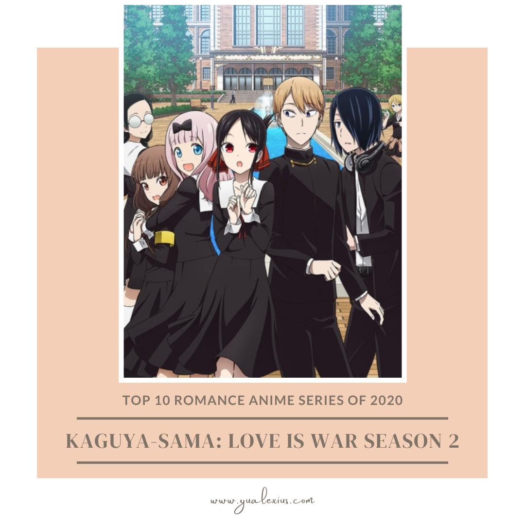 romance anime 2020 kaguya sama love is war season 2
